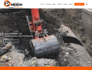entrepreneurexcavation.com screenshot