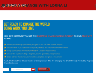 entrepreneursforachange.com screenshot