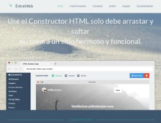 entreweb.net screenshot