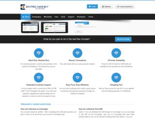 entromoney.com screenshot