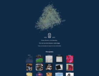 entropy-records.com screenshot