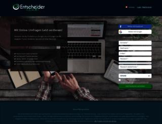 entscheiderclub.ch screenshot