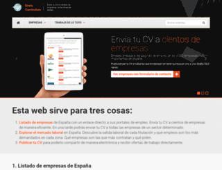 enviacurriculum.com screenshot