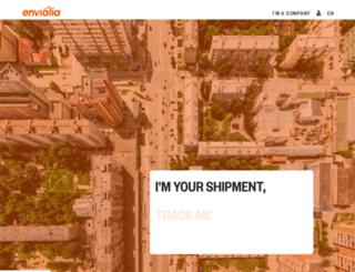 envialia.es screenshot
