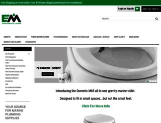 environmentalmarine.com screenshot