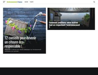environnement-france.fr screenshot
