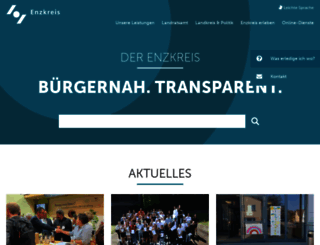 enzkreis.de screenshot