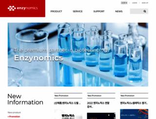 enzynomics.com screenshot