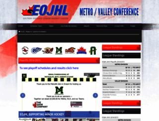 eojhl.pointstreaksites.com screenshot