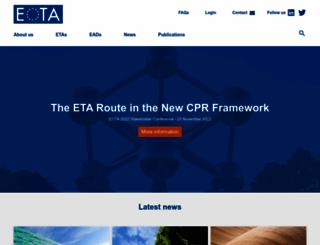 eota.eu screenshot