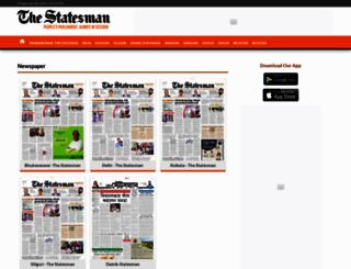epaper.thestatesman.com screenshot