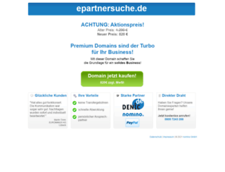 epartnersuche.de screenshot