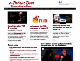 epatientdave.com screenshot