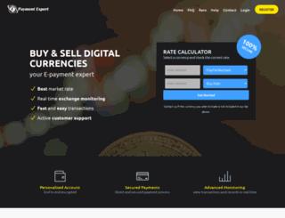 epaymentexpert.com screenshot