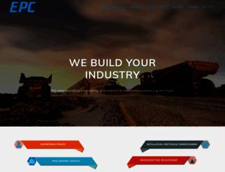 epccorporation.com screenshot
