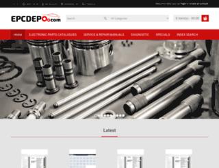 epcdepo.com screenshot