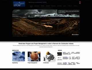 epcmexperts.com screenshot