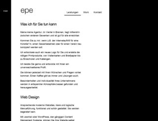 epetzel.de screenshot
