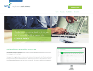 epharmasolutions.com screenshot