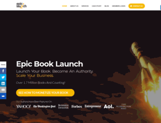 epic-launch.com screenshot