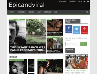 epicandviral.net screenshot