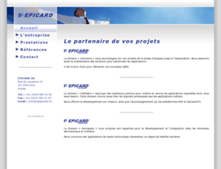 epicard.com screenshot