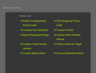 epicasports.com screenshot