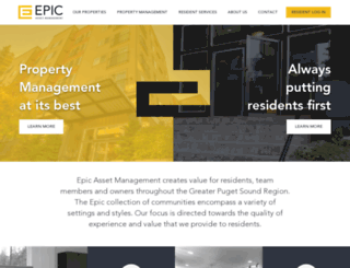 epicasset.securecafe.com screenshot