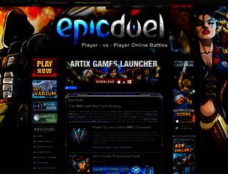 epicduel.com screenshot