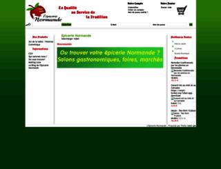 epicerie-normande.com screenshot