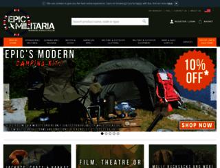 epicmilitaria.com screenshot