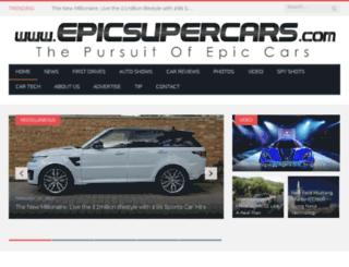 epicsupercars.com screenshot
