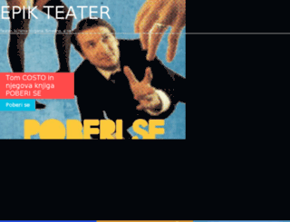 epikteater.si screenshot