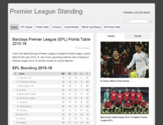 eplstanding.com screenshot