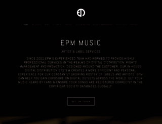 epm-music.com screenshot
