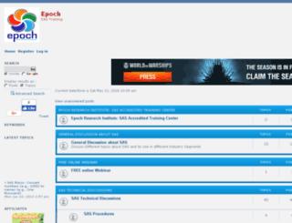 epoch.forumotions.in screenshot