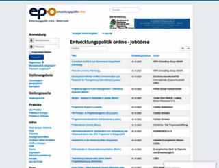 epojobs.de screenshot