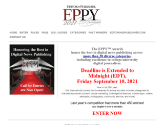eppyawards.com screenshot
