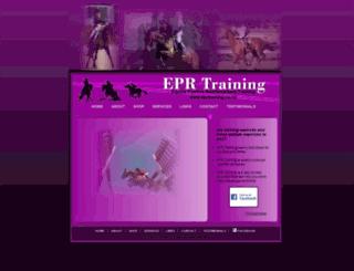 eprtraining.co.nz screenshot