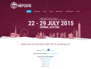 eps-hep2015.eu screenshot