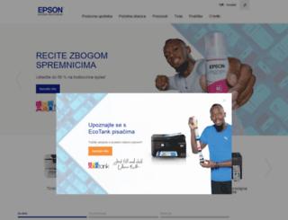 epson.hr screenshot