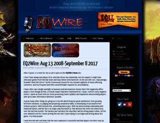 eq2wire.com screenshot