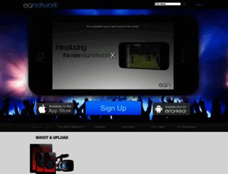 eqnetwork.com screenshot
