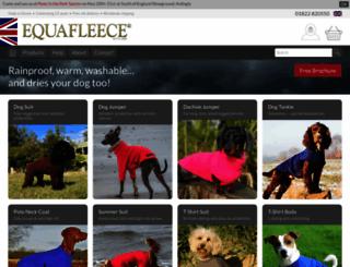 equafleece.co.uk screenshot