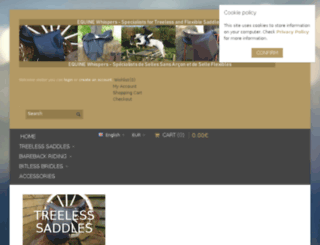 equinewhispers.co.uk screenshot