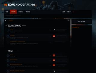equinoxgamers.com screenshot