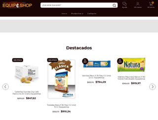 equipeshop.com.ar screenshot