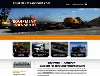 equipmenttransport.com screenshot