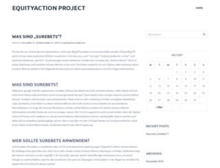 equityaction-project.eu screenshot