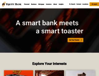 equitybank.com screenshot